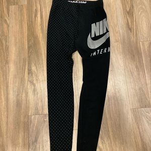 nike pro leggings size small